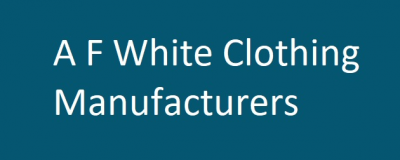 A F White Clothing Manufacturers Logo