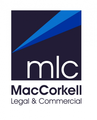 MacCorkell Legal & Commercial Logo